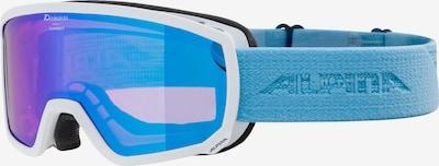 Alpina Skibrille 'Scarebro' in himmelblau / lila, Produktansicht