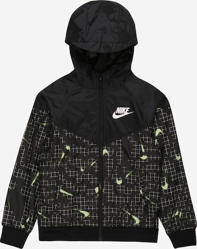 Nike Sportswear Kurtka przejściowa w kolorze neonowa zieleń / czarny / białym, Podgląd produktu