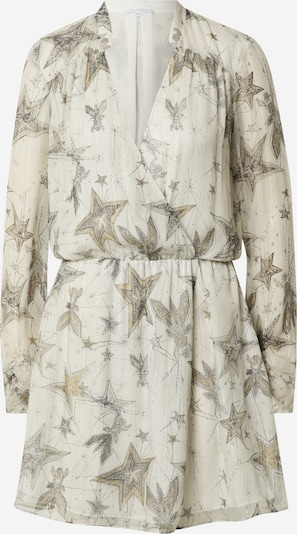 PATRIZIA PEPE Dress in Sand / Grey / natural white, Item view