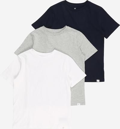 GAP Shirt in de kleur Blauw / Grijs / Wit, Productweergave
