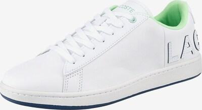 LACOSTE Sneaker ' Carnaby Evo' in hellgrün / weiß, Produktansicht