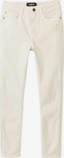 Desigual Pantalon 'ALBA' en blanc, Vue avec produit