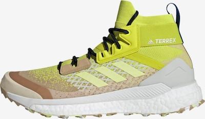 adidas Terrex Boots 'TERREX Free Hiker' in Light brown / Yellow / Light grey / Black / White, Item view