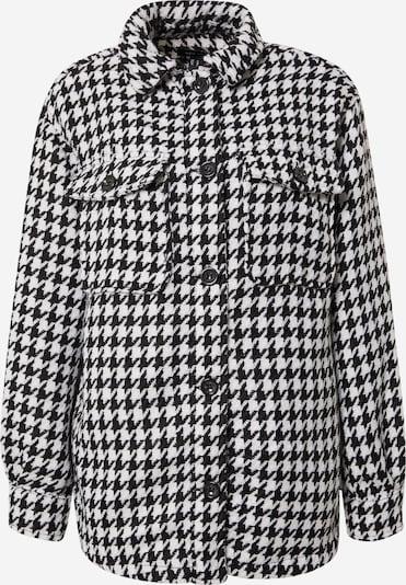 NEW LOOK Overgangsjakke 'MILA' i sort / hvid, Produktvisning