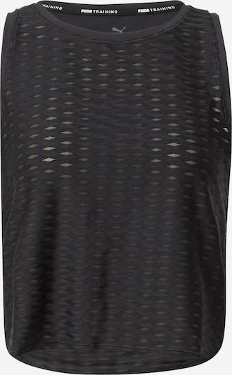 PUMA Sporttop in de kleur Zwart, Productweergave