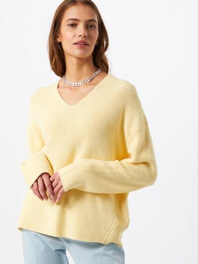 DRYKORN Пуловер 'MERINA' в жълто, Преглед на модела