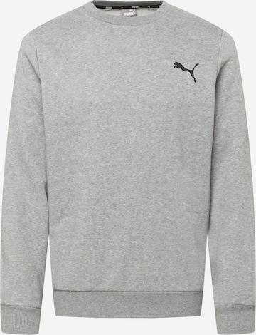 PUMA Αθλητική μπλούζα φούτερ σε γκρι