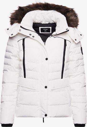 Superdry Jacke 'Glacier' in schwarz / weiß, Produktansicht