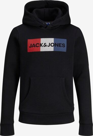 Felpa 'JJECORP' Jack & Jones Junior di colore blu colomba / rosso fuoco / nero / bianco, Visualizzazione prodotti