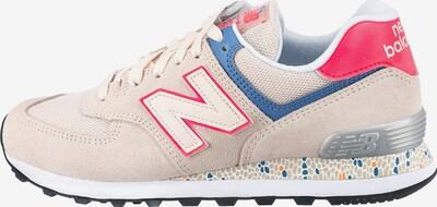 new balance Sneaker in beige / blau / rosa / silber, Produktansicht