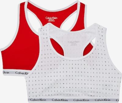 Calvin Klein Underwear BH in de kleur Rood / Zwart / Wit, Productweergave