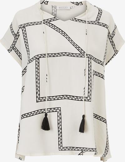 Masai Top 'Edora' in beige / schwarz, Produktansicht