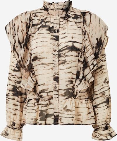 ONLY Bluza 'Amanda' | bež / črna barva, Prikaz izdelka