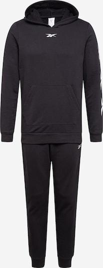 REEBOK Jogginganzug in schwarz, Produktansicht