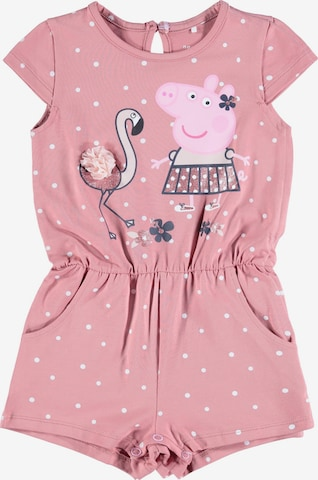 NAME IT Overall 'Peppa Pig' in Pink