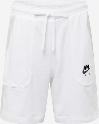 világosszürke / fekete / fehér Nike Sportswear Nadrág, Termék nézet
