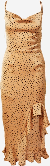Missguided Kleid in hellbraun / schwarz, Produktansicht