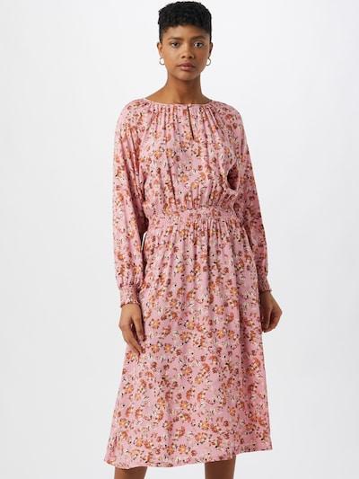 Part Two Kleid 'Hilal' in mischfarben / hellorange / rosé / weiß, Modelansicht