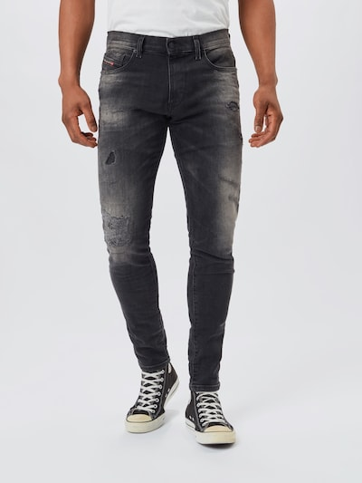 DIESEL Jeans 'STRUKT' in Black denim, View model