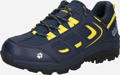JACK WOLFSKIN Chaussures basses 'Vojo' en bleu marine / jaune fluo / blanc, Vue avec produit