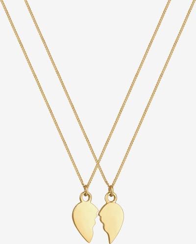 ELLI Halskette Herz in gold, Produktansicht