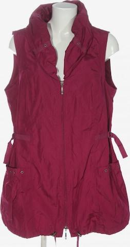 Gina Laura Vest in L in Pink