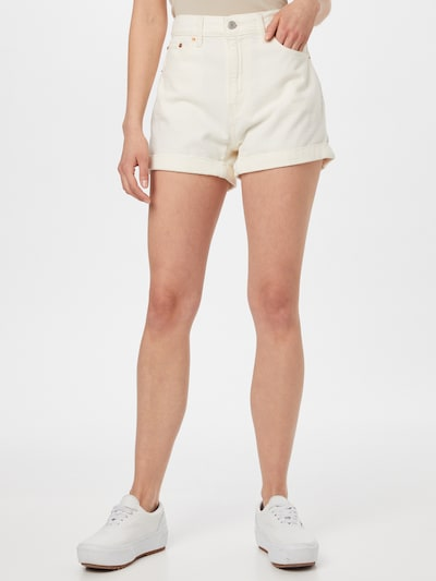 LEVI'S Kavbojke | bel denim barva, Prikaz modela
