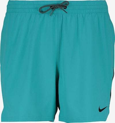 Nike Swim Badeshorts in aqua / schwarz, Produktansicht
