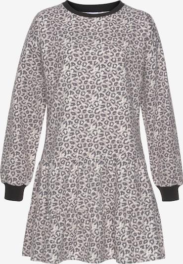 LASCANA Kleid in grau, Produktansicht