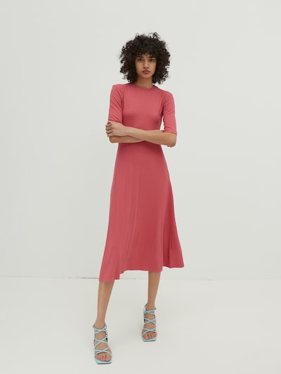 EDITED Dress 'Tayla' in Berry, View model