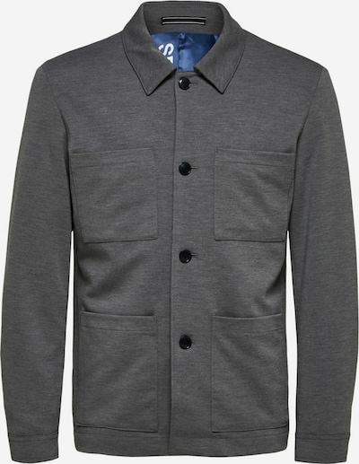 SELECTED HOMME Tussenjas in de kleur Grijs, Productweergave