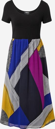 DKNY Kleid in blau / gelb / eosin / weiß, Produktansicht