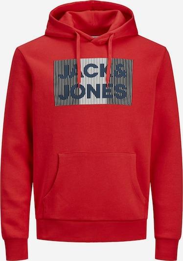 JACK & JONES Sweatshirt in de kleur Navy / Grijs / Rood / Wit, Productweergave