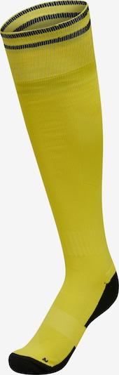 Hummel Athletic Socks in Yellow / Black, Item view