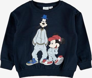 zils NAME IT Sportisks džemperis 'MICKEY GREGER'