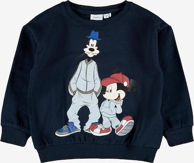 NAME IT Sweater majica 'MICKEY GREGER' u mornarsko plava / miks boja, Pregled proizvoda