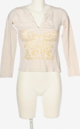 Seventyseven V-Ausschnitt-Shirt in S in pastellgelb / wollweiß, Produktansicht
