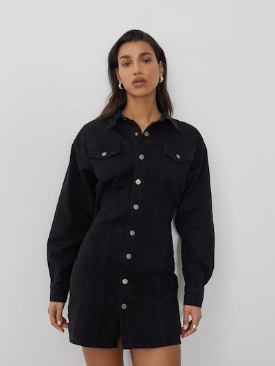 LeGer by Lena Gercke Shirt dress 'Zehra' in Black, View model