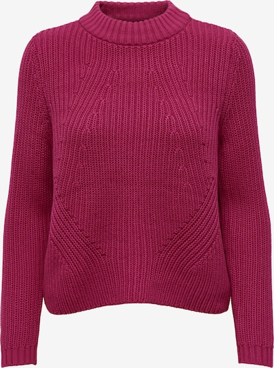 ONLY Πουλόβερ 'Leela' σε σκούρο ροζ, Άποψη προϊόντος