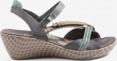 CAMPER High Heel Sandaletten in 39 in braun / grün, Produktansicht