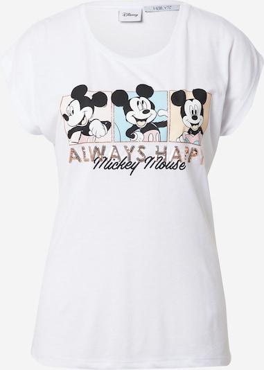Hailys T-shirt 'Annika' en mélange de couleurs / blanc, Vue avec produit
