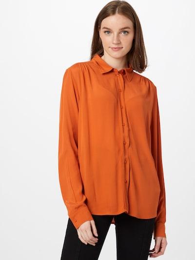 SEIDENSTICKER Bluse in orange, Modelansicht