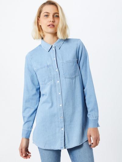 VERO MODA Blūze 'Mila' zils džinss, Modeļa skats