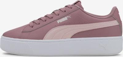 PUMA Baskets basses en rose ancienne, Vue avec produit