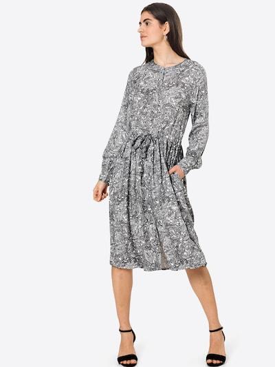 Kaffe Košulja haljina 'Paja' u crna / bijela, Prikaz modela