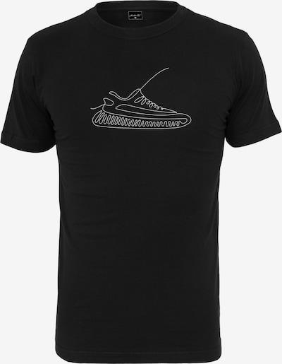 Tricou 'One Line Sneaker' Mister Tee pe negru / alb, Vizualizare produs