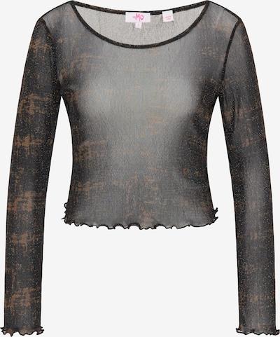 MYMO Shirt in braun / schwarz, Produktansicht