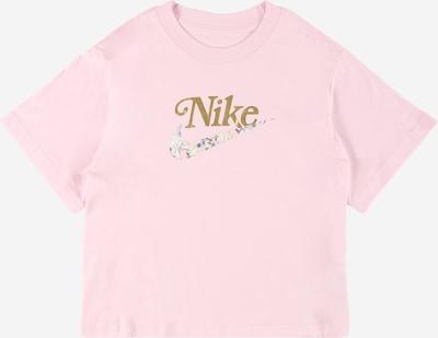 Nike Sportswear Тениска 'BOXY ENERGY' в лимоненожълто / пастелно зелено / бледорозово, Преглед на продукта