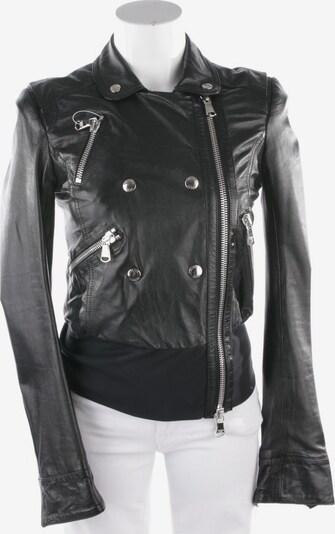 PATRIZIA PEPE Lederjacke in XS in schwarz, Produktansicht