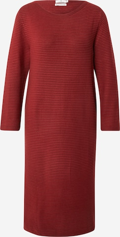 TOM TAILOR Knit dress in Red